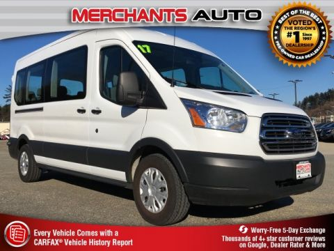 Pre-Owned 2017 Ford Transit-350 XLT RWD 3D Medium Roof Wagon