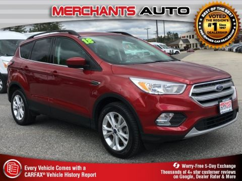 Used 2018 Ford Escape SE FWD 4D Sport Utility
