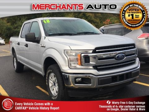 Used 2018 Ford F-150 XLT 4WD