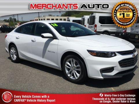 Used 2018 Chevrolet Malibu LT FWD 4D Sedan