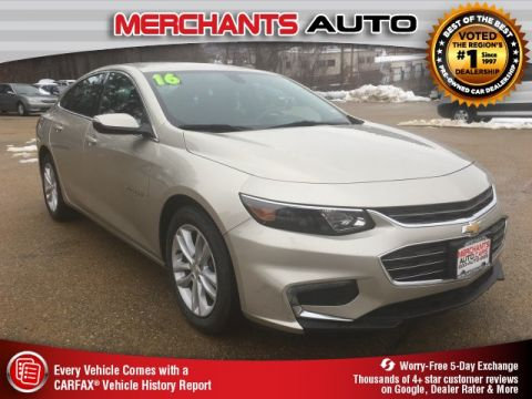 Used 2016 Chevrolet Malibu LT FWD 4D Sedan
