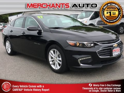 Used 2017 Chevrolet Malibu LT FWD 4D Sedan