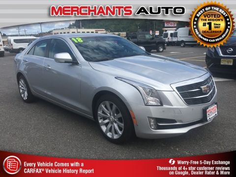 Used 2018 Cadillac ATS 3.6L Premium Luxury with Navigation & AWD