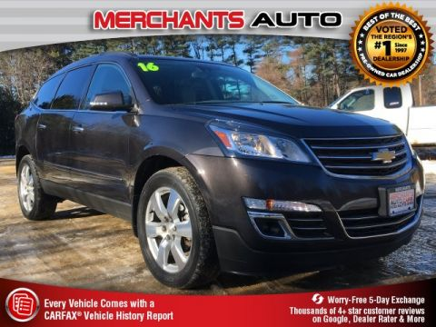 Used 2016 Chevrolet Traverse LTZ AWD