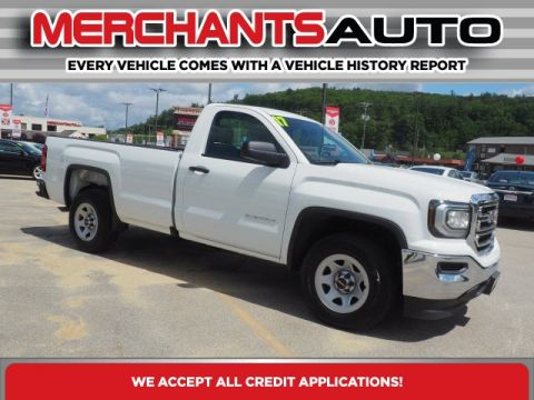 Pre-Owned 2017 GMC Sierra 1500 Base RWD 2D Standard Cab