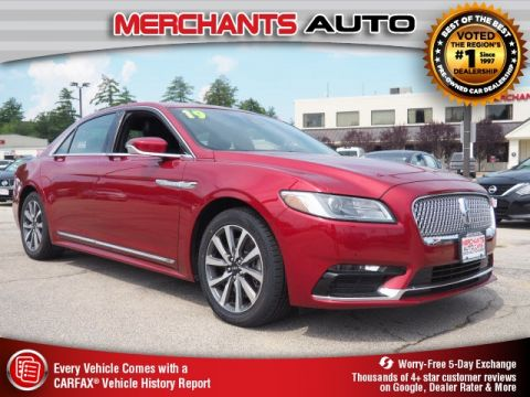 Pre-Owned 2019 Lincoln Continental Standard
