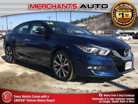 Used 2016 Nissan Maxima 3.5 SL with Navigation