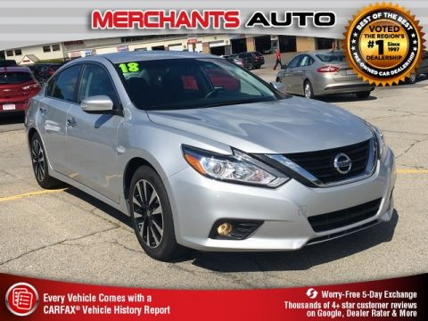 Used 2018 Nissan Altima 2.5 SL FWD 4D Sedan
