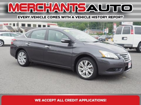 Pre-Owned 2015 Nissan Sentra SL FWD 4D Sedan