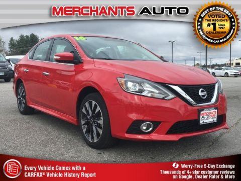 Used 2016 Nissan Sentra SR FWD 4D Sedan