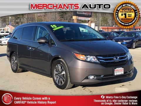 Pre-Owned 2015 Honda Odyssey Touring
