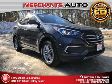 Pre-Owned 2018 Hyundai Santa Fe Sport 2.4 Base AWD