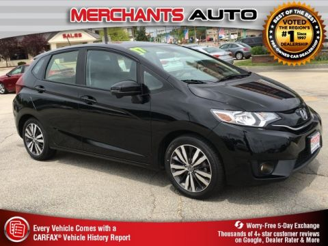 Used 2017 Honda Fit EX-L with Navigation