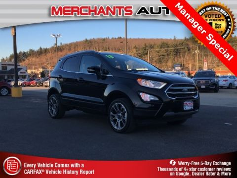Used 2018 Ford EcoSport Titanium with Navigation & 4WD