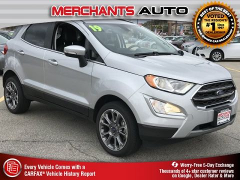 Used 2019 Ford EcoSport Titanium with Navigation & 4WD