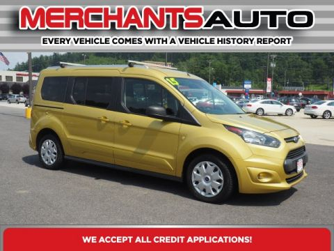 Pre-Owned 2015 Ford Transit Connect XLT FWD 4D Wagon