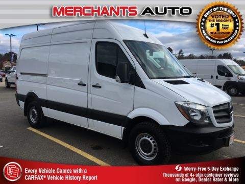 Pre-Owned 2018 Mercedes-Benz Sprinter 2500 Cargo 144 WB