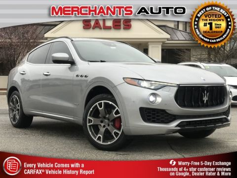 Used 2018 Maserati Levante GranSport with Navigation & AWD